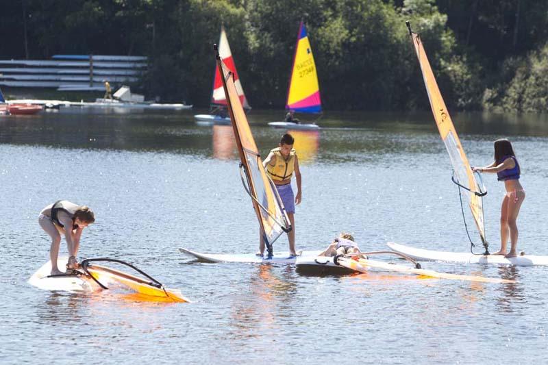Во время занятий водными видами спорта