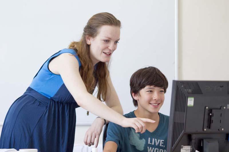 Занятия в компьютерном классе