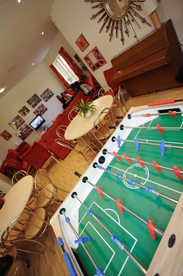 Общая комната отдыха в Bell Group, Wellington College