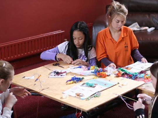 Занятия творчеством в British Study Centres, Ardingly College