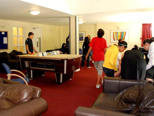 Общая комната для общения в British Study Centres, Ardingly College
