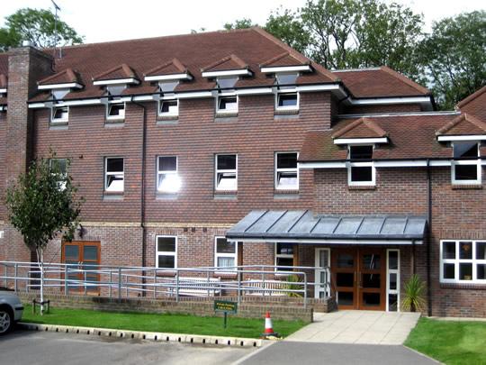 Резиденция школы British Study Centres, Ardingly College, в которой проживают студенты