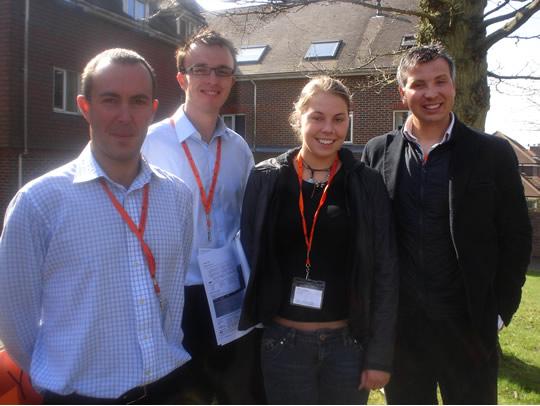 Команда преподавателей British Study Centres, Ardingly College