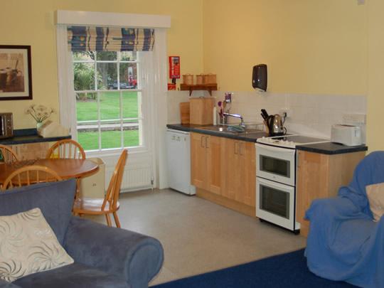 Кухня общего пользования в резиденции