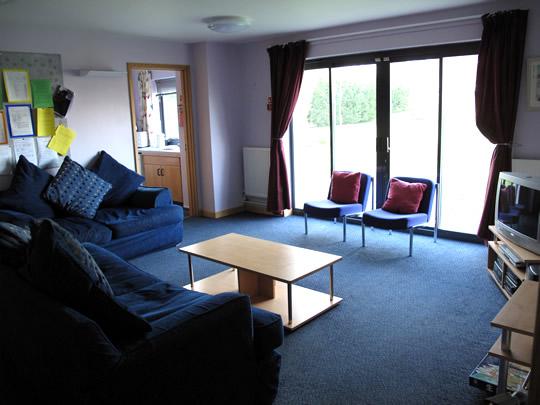 Комната для общения в резиденции