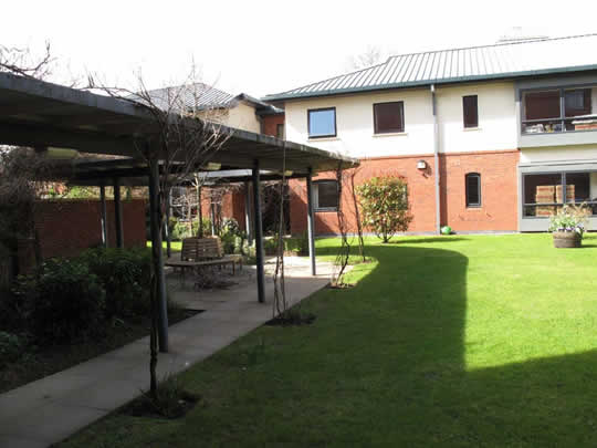 Резиденция, в которой проживают студенты