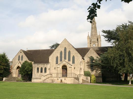 Часовня на территории школы British Study Centres, Wycliffe College
