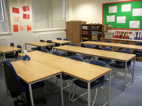 Классная комната в British Study Centres, Wycliffe College