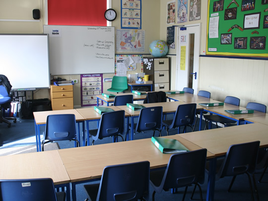 Класс в младшей школе British Study Centres, Wycliffe College