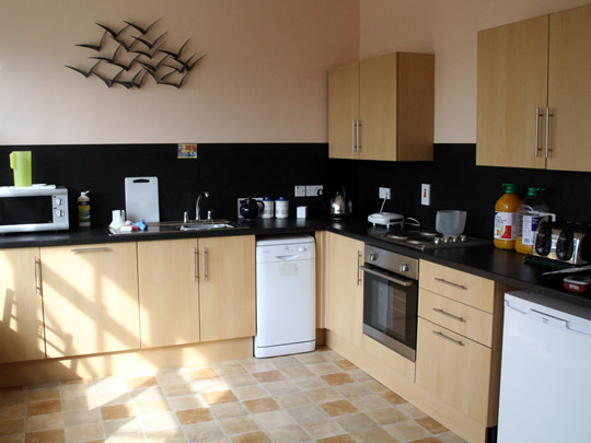 Кухня в резиденции British Study Centres, Wycliffe College