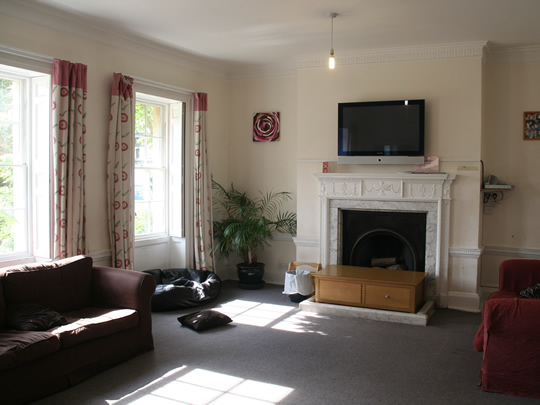 Комната для общения в резиденции British Study Centres, Wycliffe College