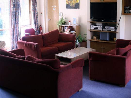 Общая комната в резиденции British Study Centres, Wycliffe College