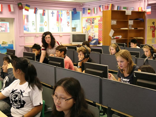 Компьютерный класс British Study Centres, Wycliffe College