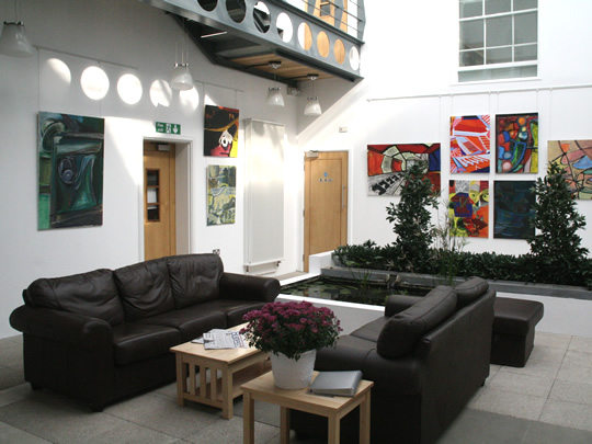 Ресепция школы British Study Centres, Wycliffe College