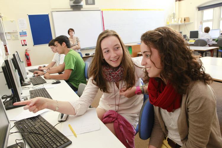 Компьютерный класс в Embassy Academy Roedean
