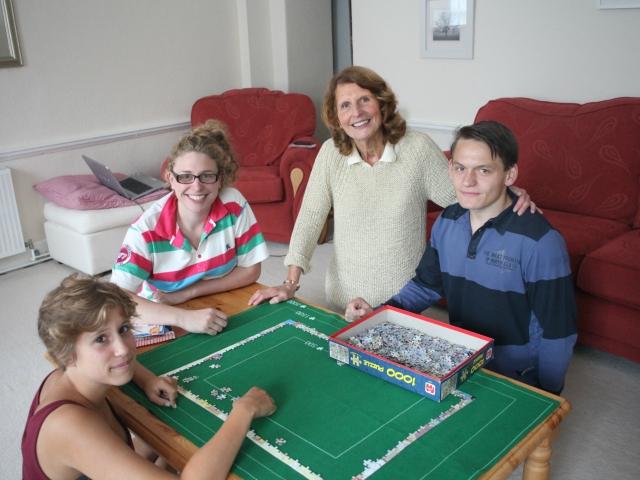 Проживание в принимающих семьях