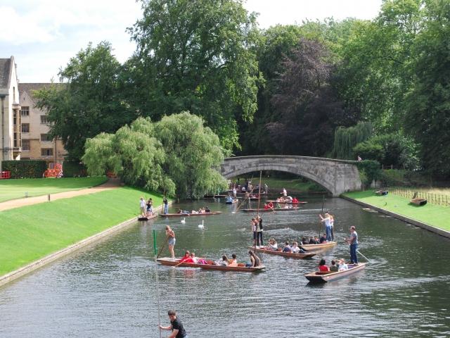 Экскурсия по Кембриджу
