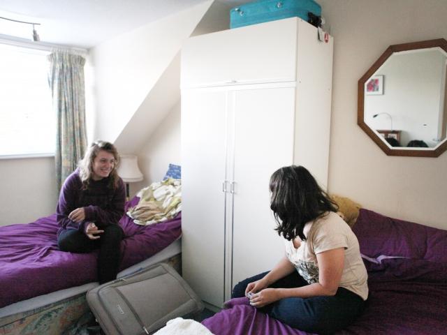 Комната студента в резиденции при EC, Cambridge