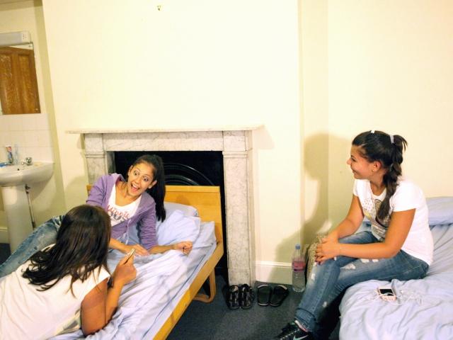 Студенты EC, Cambridge в резиденции