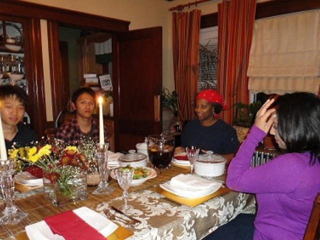 Проживание в принимающей семье