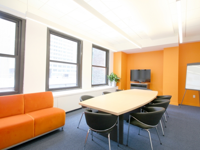 Класс для бизнес-занятий в EC, New York