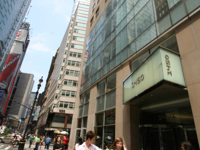 Фасад здания EC, New York