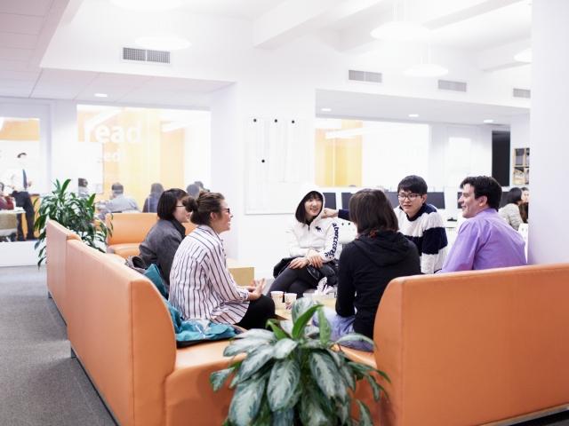 Комната отдыха в EC, New York