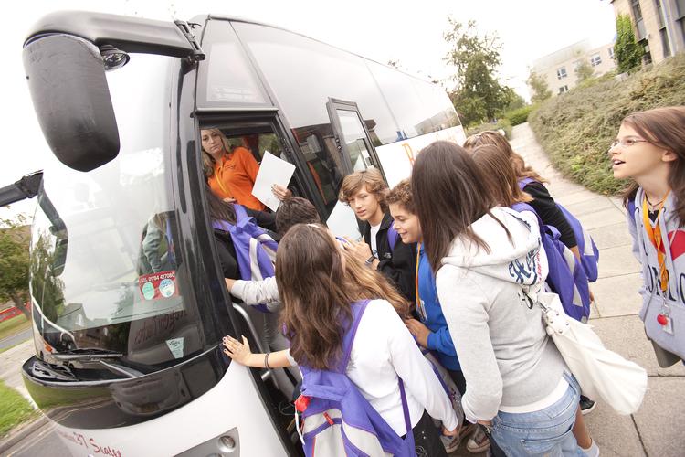 Студенты Embassy Academy Warminster отправляются на экскурсию