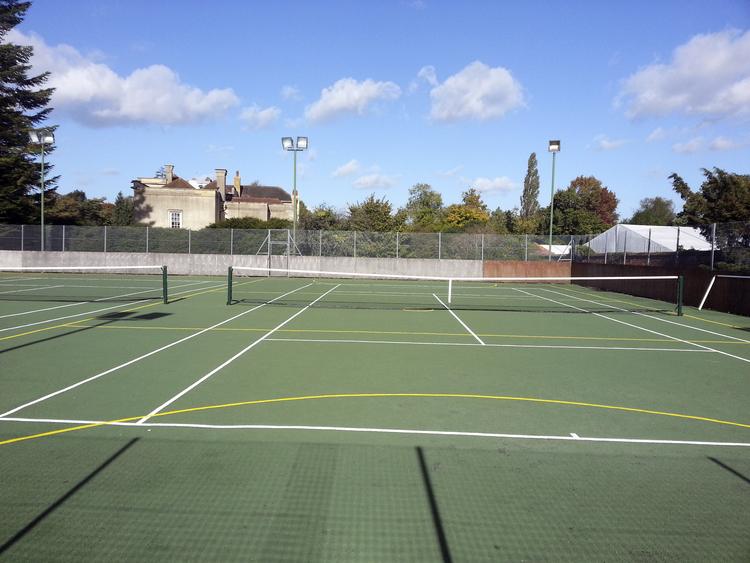 Теннисные корты при школе Embassy Summer Chalfont