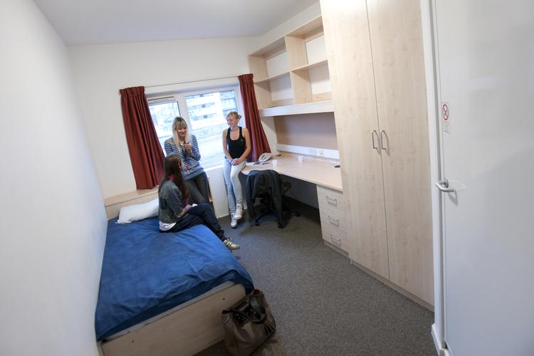 Студенческая комната в резиденции при Embassy Summer, London Docklands