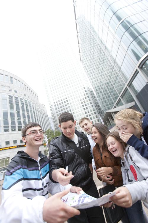 Во время экскурсии по Лондону