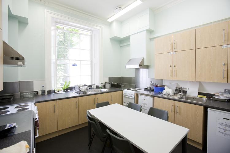 Кухня в резиденции при Embassy Summer Schools, London – UCL