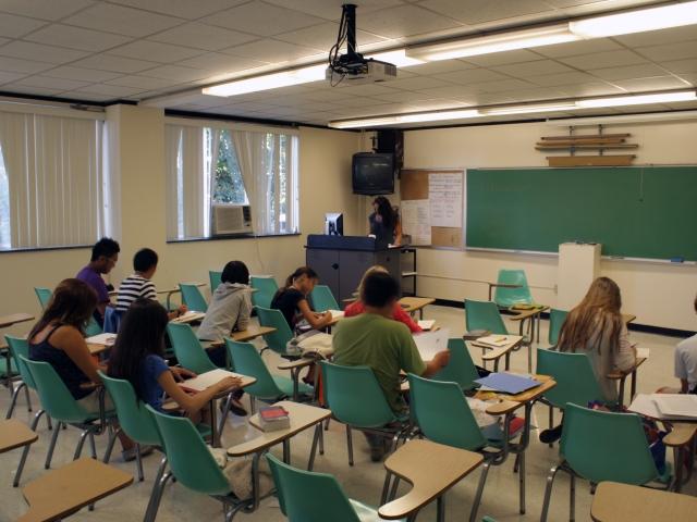 Классы в EC, New York - Nyack College