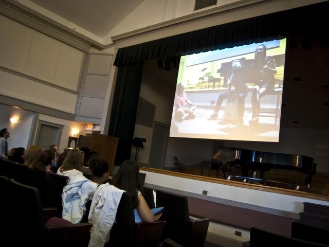 Кинозал в EC, New York - Nyack College