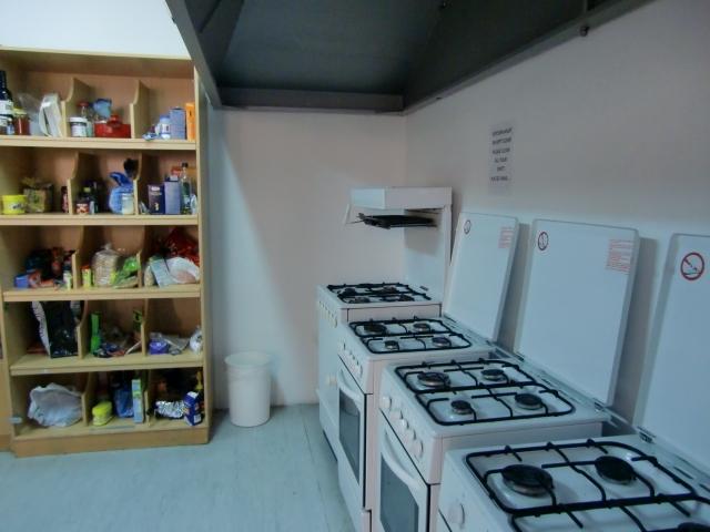 Кухня в студенческой резиденции Patricia Student Residence