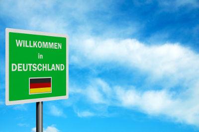 Добро пожаловать в Германию!