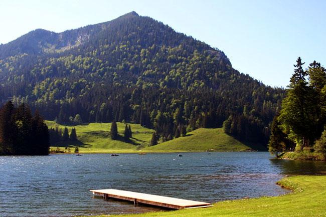 Шпитцингзее - озеро неподалеку от одноименного поселка