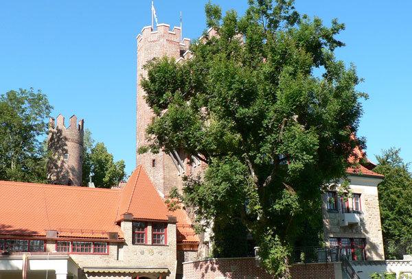 Территория школы GLS, Munich Castle