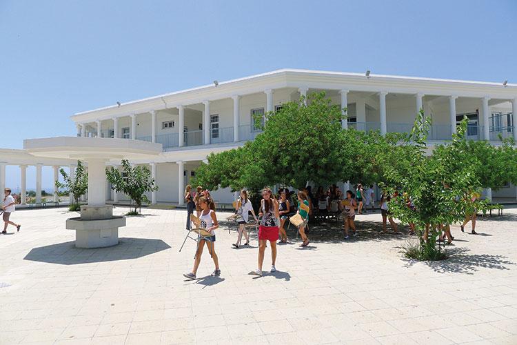 Территория гимназии Эпископани
