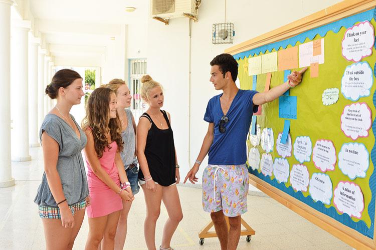 Первый день в English in Cyprus