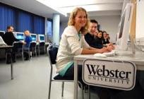 Учебная аудитория Webster University