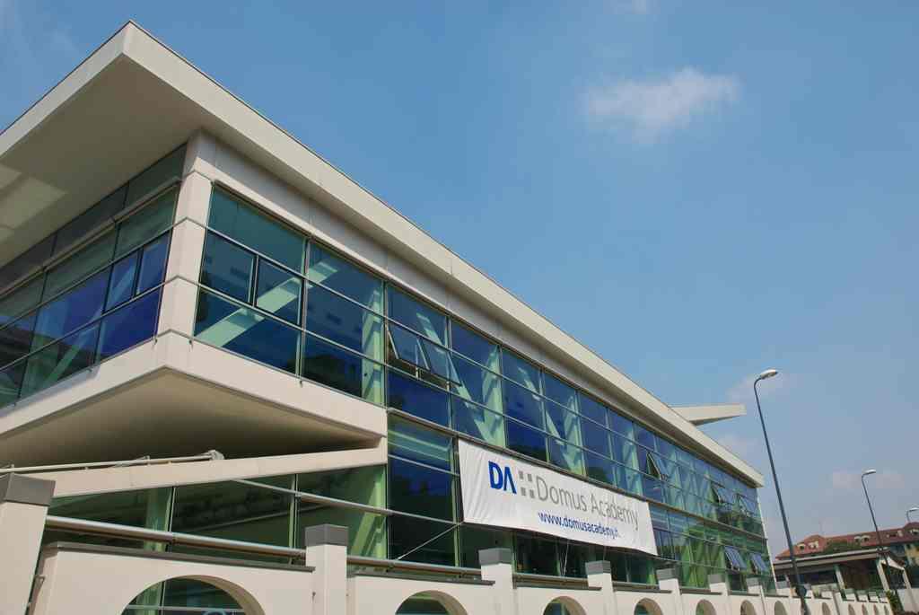Главный фасад Domus Academy