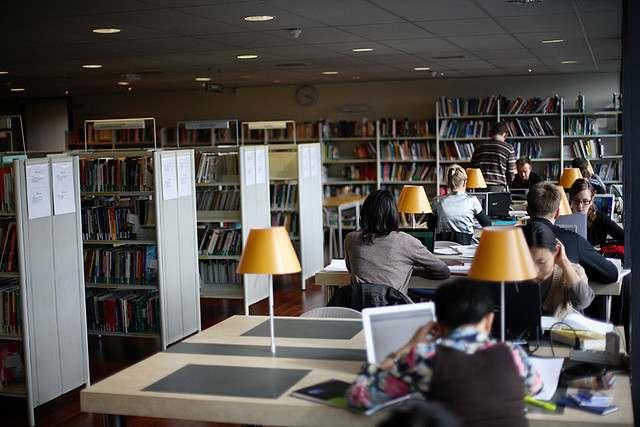 Библиотека, ESC Rennes School of Business