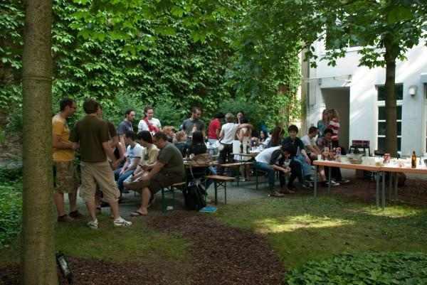 Барбекю-вечеринка в Eurocenters, Berlin