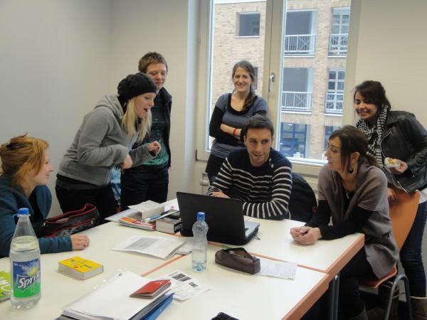 Учебный класс в в Eurocenters, Berlin
