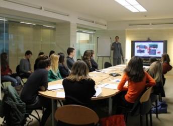 Учебные классы в  John Cabot University