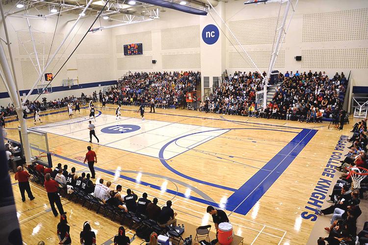 Спортивный зал Niagara College