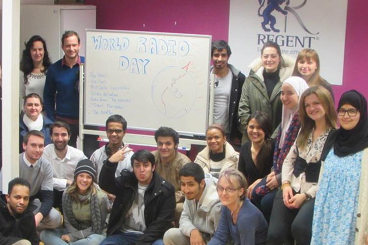 Студенты Regent, Cambridge