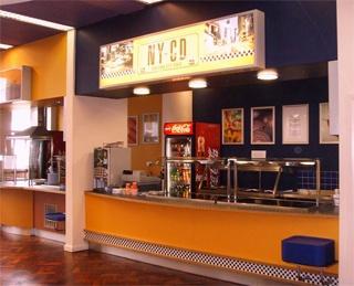 Кафетерий, Embassy Summer Schools, Oxford - Wheatley