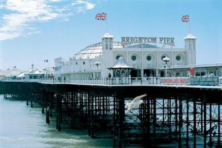 Пирс города Brighton